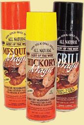 BBQ Grill Flavor Sprays