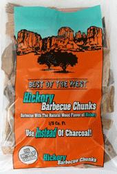 Hickory Wood Chunk Bag