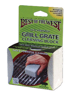 Grill Grate Cleaning Block